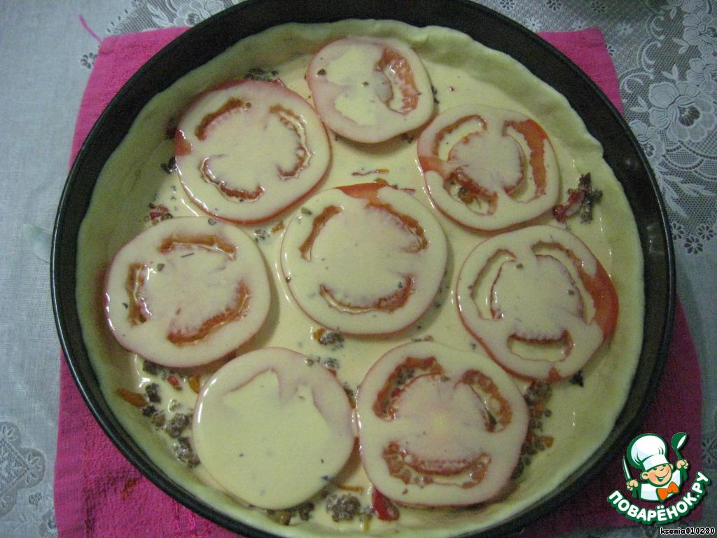 Пирог с тертым тестом сверху название