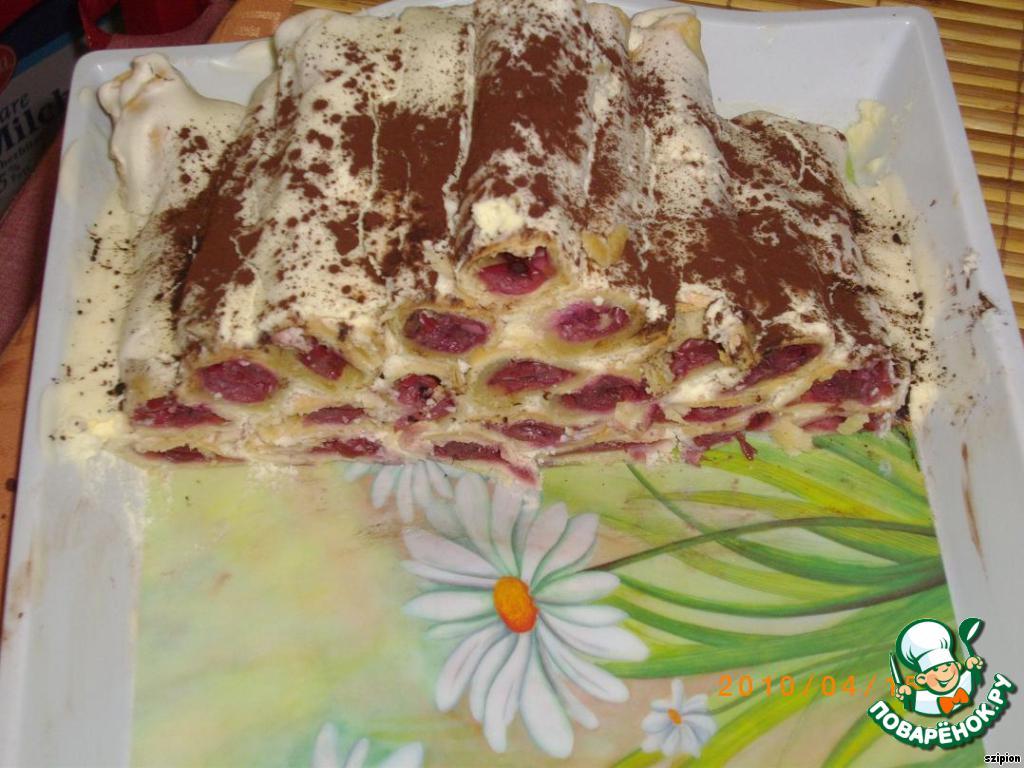 Рецепт торта поленница в домашних условиях с фото пошагово