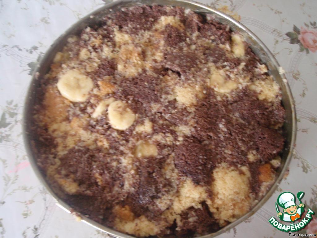 Торт банановый рецепт с фото пошагово в домашних условиях 748
