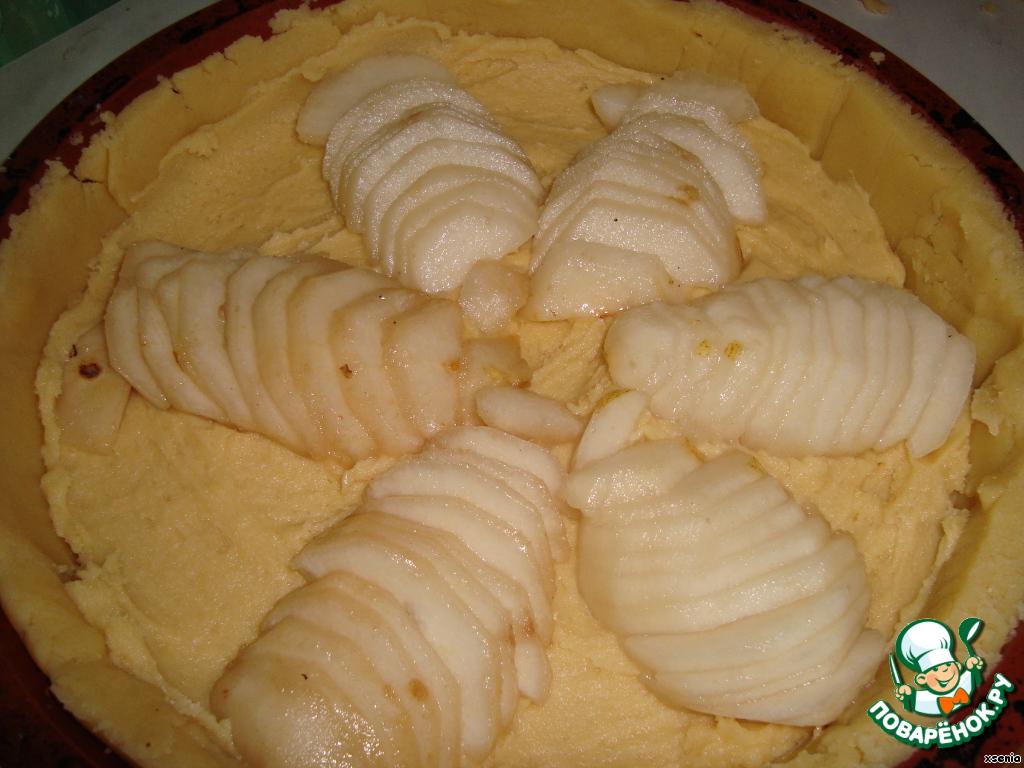 Рецепт пирог груша и сметаной