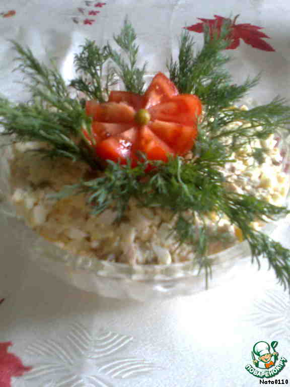 Рецепты салатов вкусняшка с