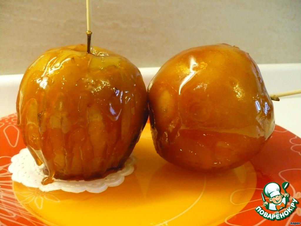 Рецепт и карамельных яблок