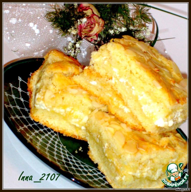Песочный пирог с начинкой рецепты с фото