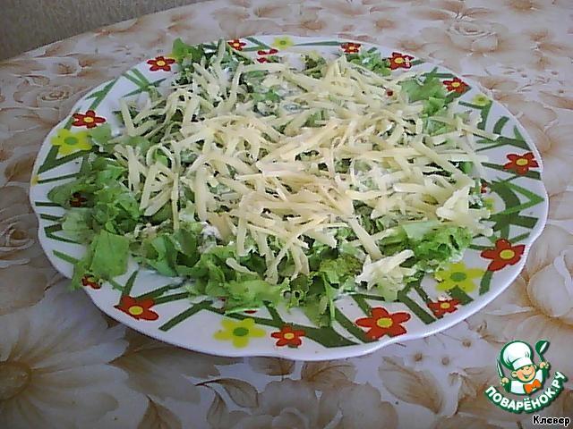 Рецепты салатов с колбасой рецепты с фото