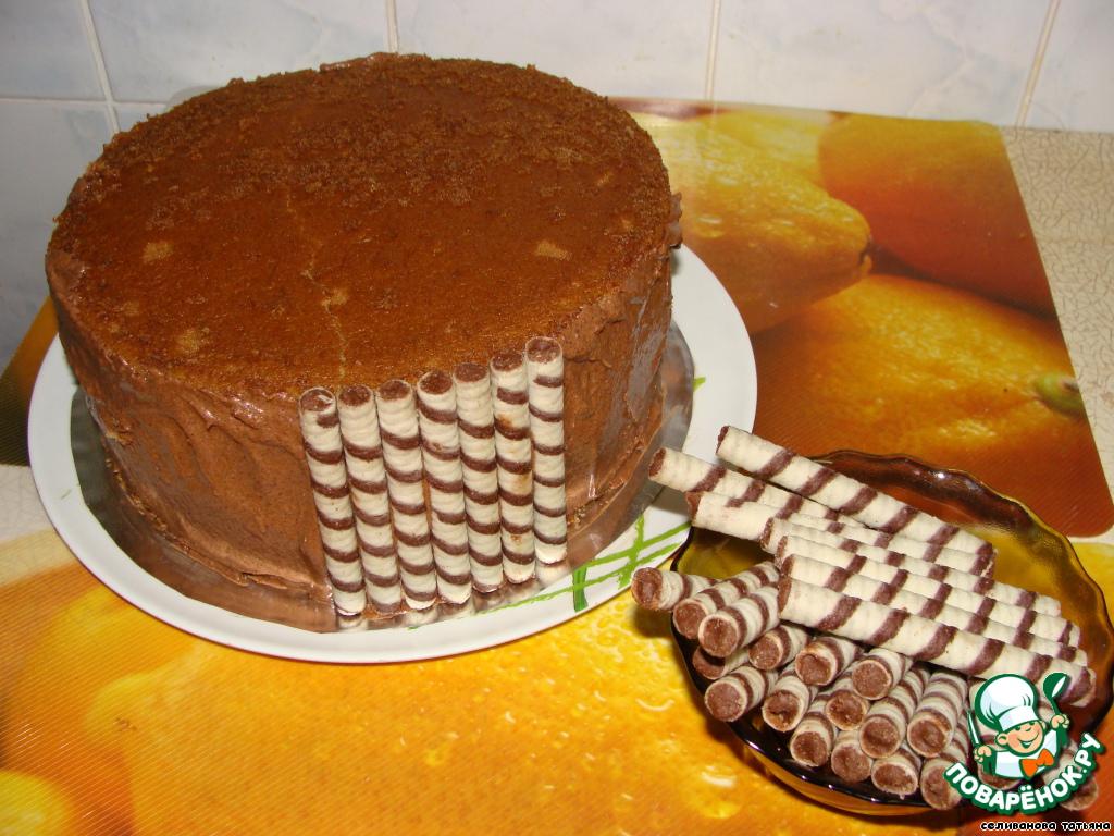 Вафельные торты в домашних условиях 868