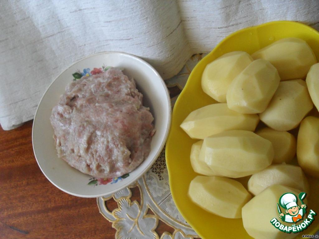 Картофель фаршированный пошаговый рецепт пошаговый