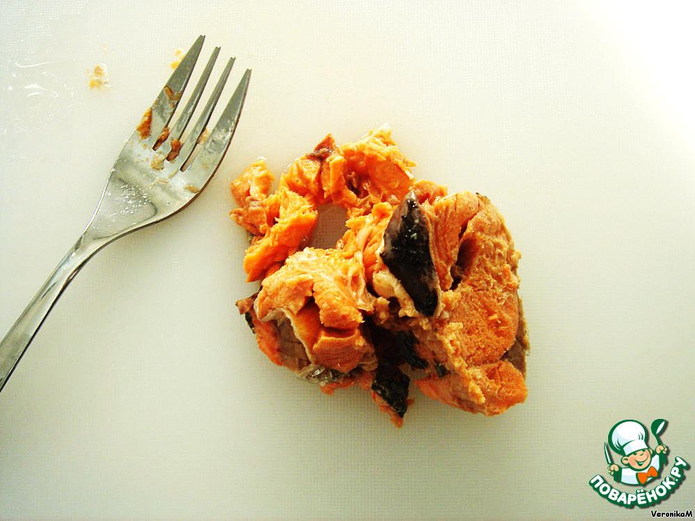 салат лососевый по рецепту