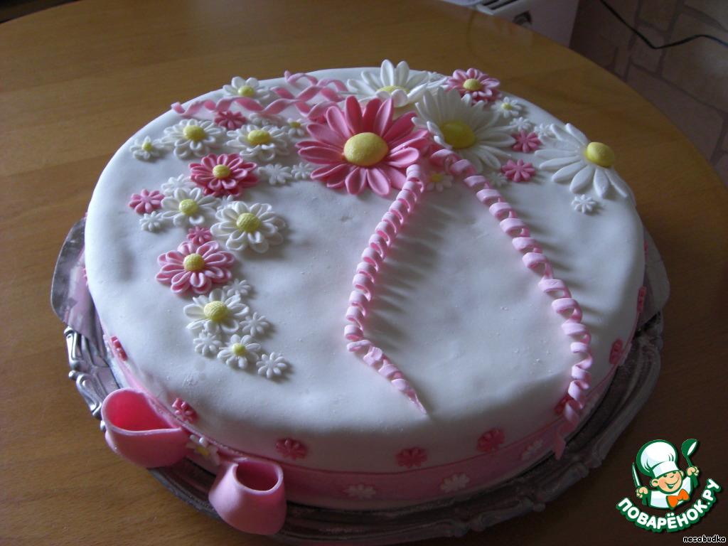 Украшаем торт в домашних условиях фото