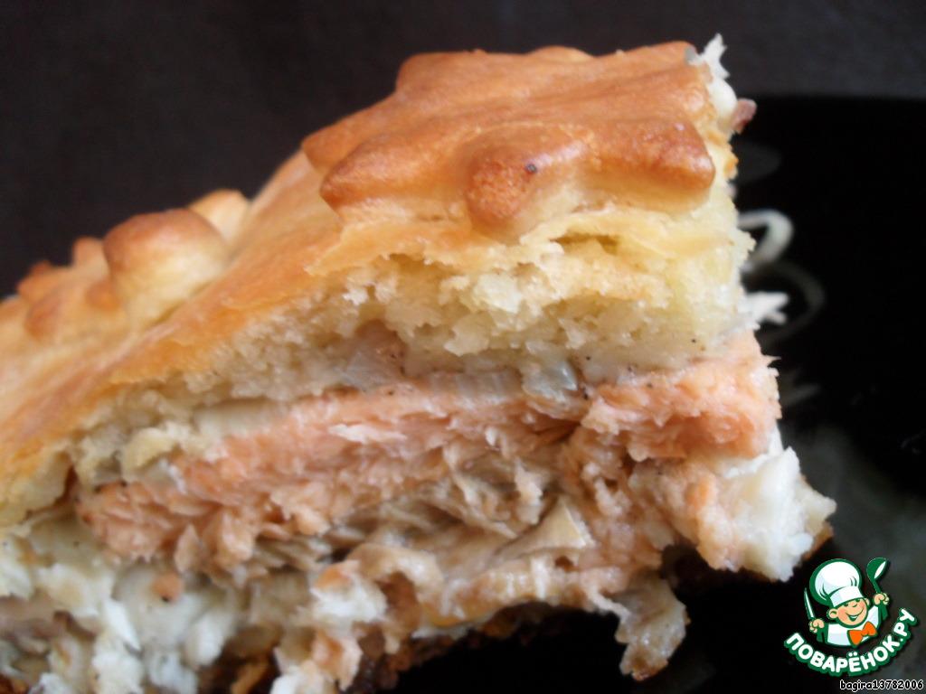 Рецепт с пошаговым рыбного пирога