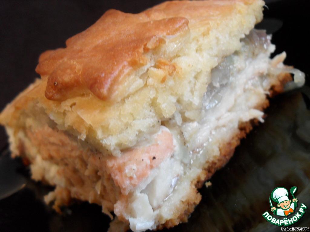 как приготовить пирог из свежей рыбы