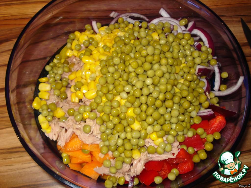 Как сделать салат с кукурузой рецепт