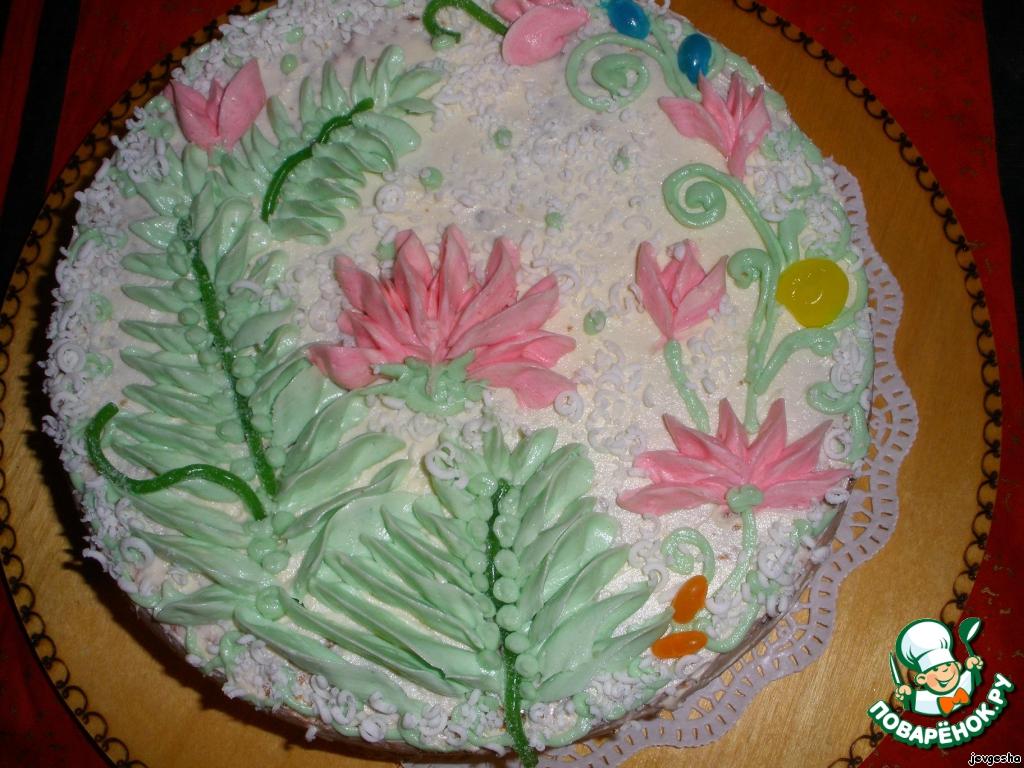 Бисквитный торт рецепт с фото для детей