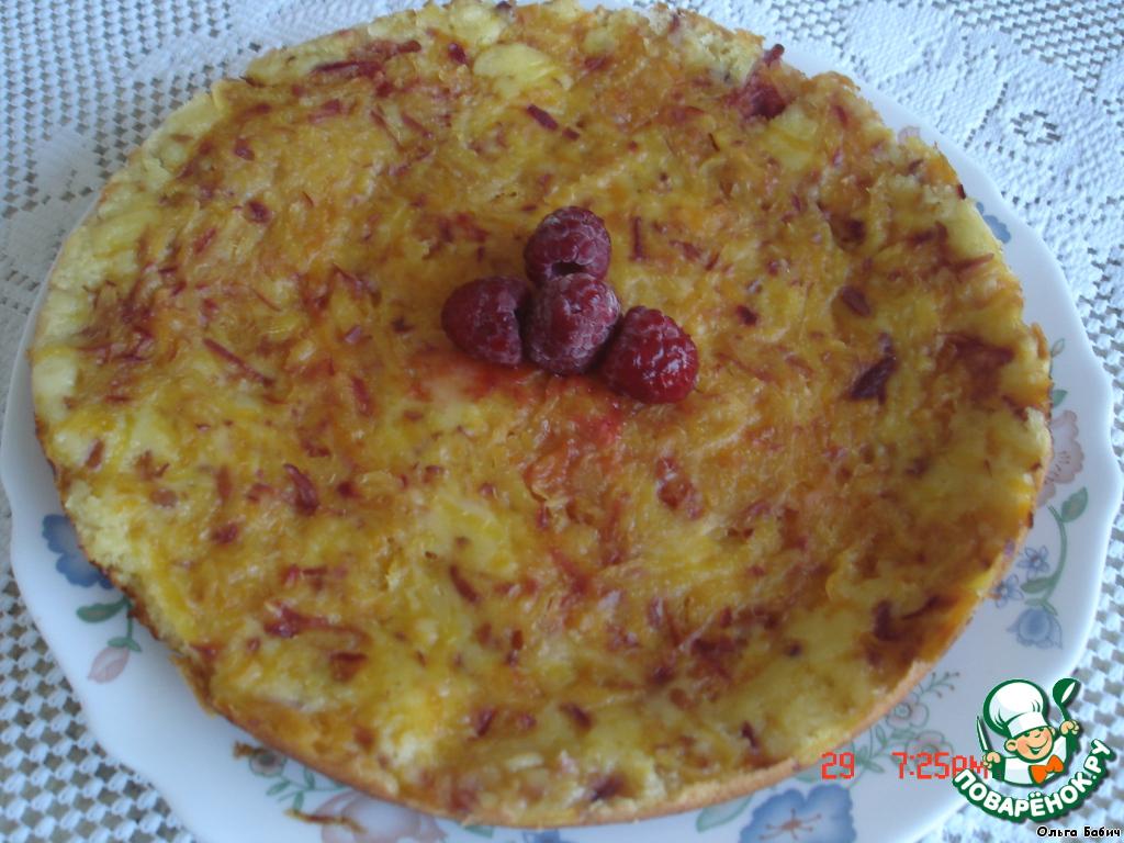 Пирог сковороде рецепт фото сладкий
