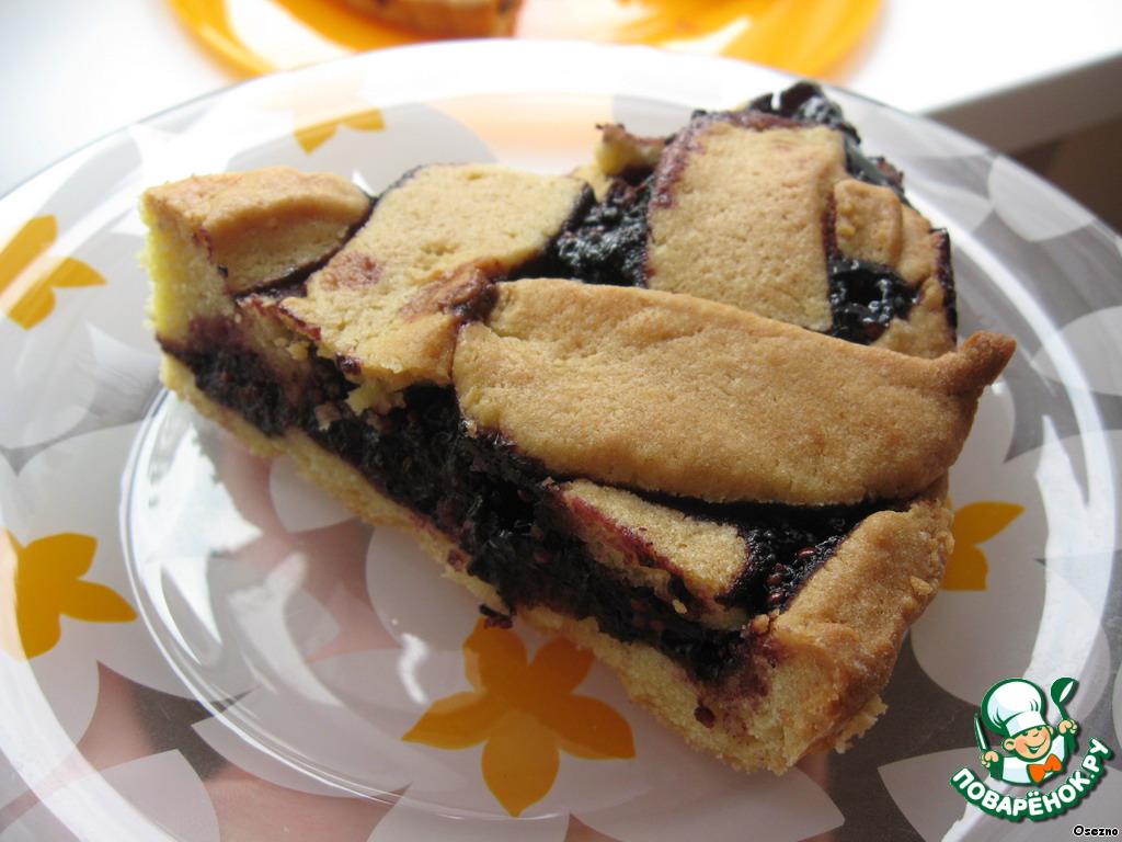 Пирог с шелковицей рецепт с