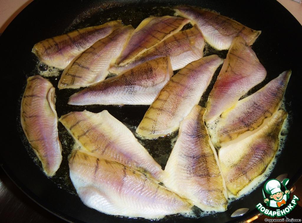 Филе морского окуня на сковороде рецепт