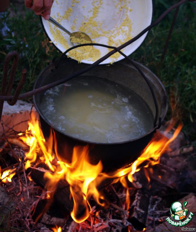 Рецепты на костре рецепт пошагово