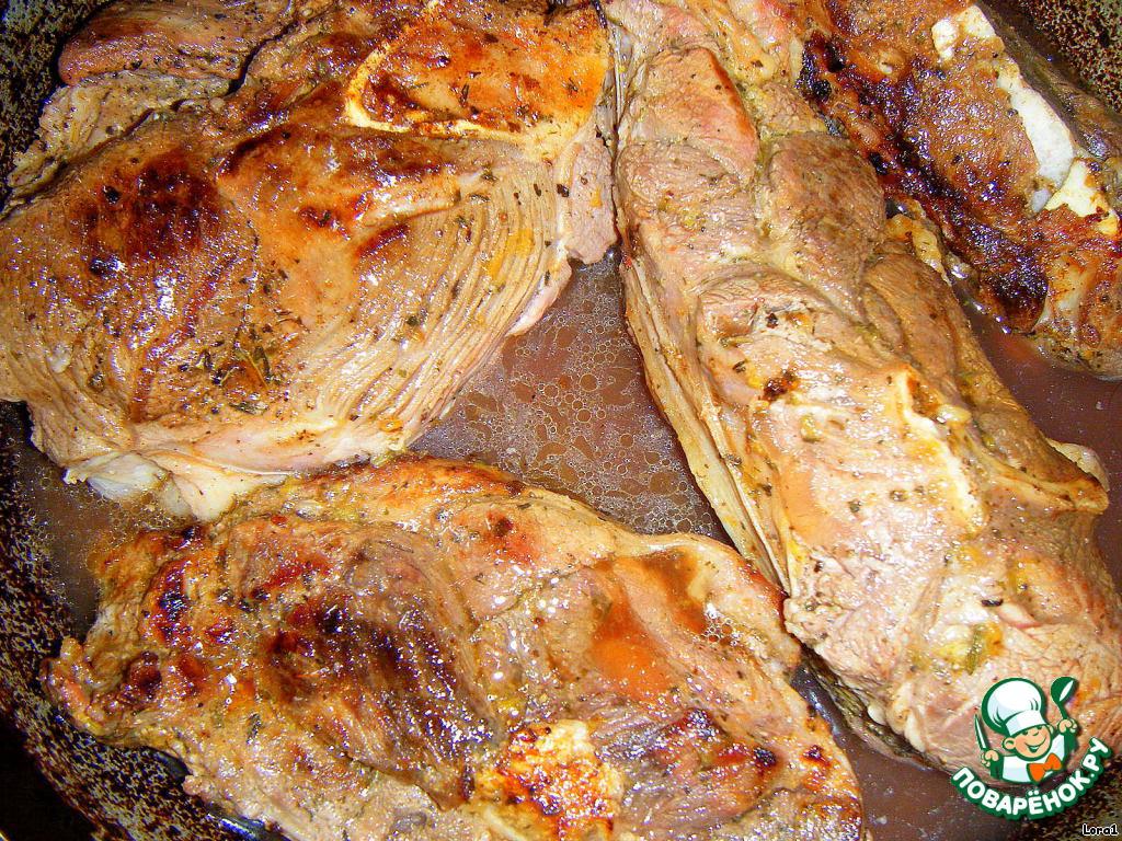 мясо с алычой рецепт с фото