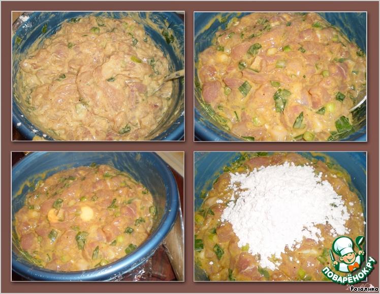 куриные котлеты с рубленным мясом рецепт