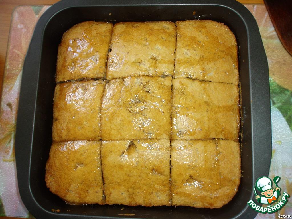 Рецепты пирогов с грецкими орехами с