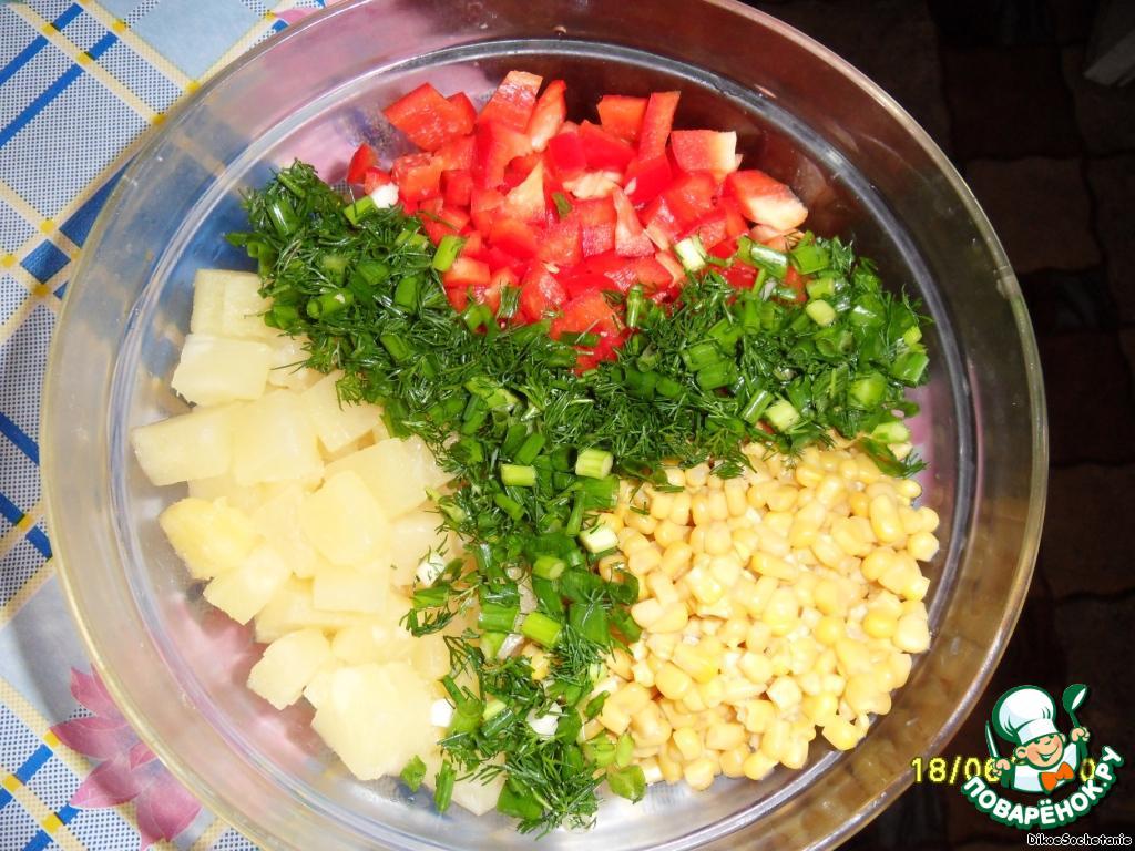 салат сказка рецепт с сыром