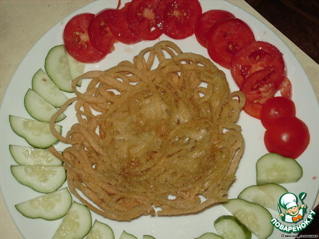 Вермишель со свининой рецепт с пошагово