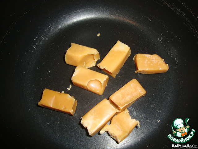 Булочки с конфетами внутри рецепт с фото