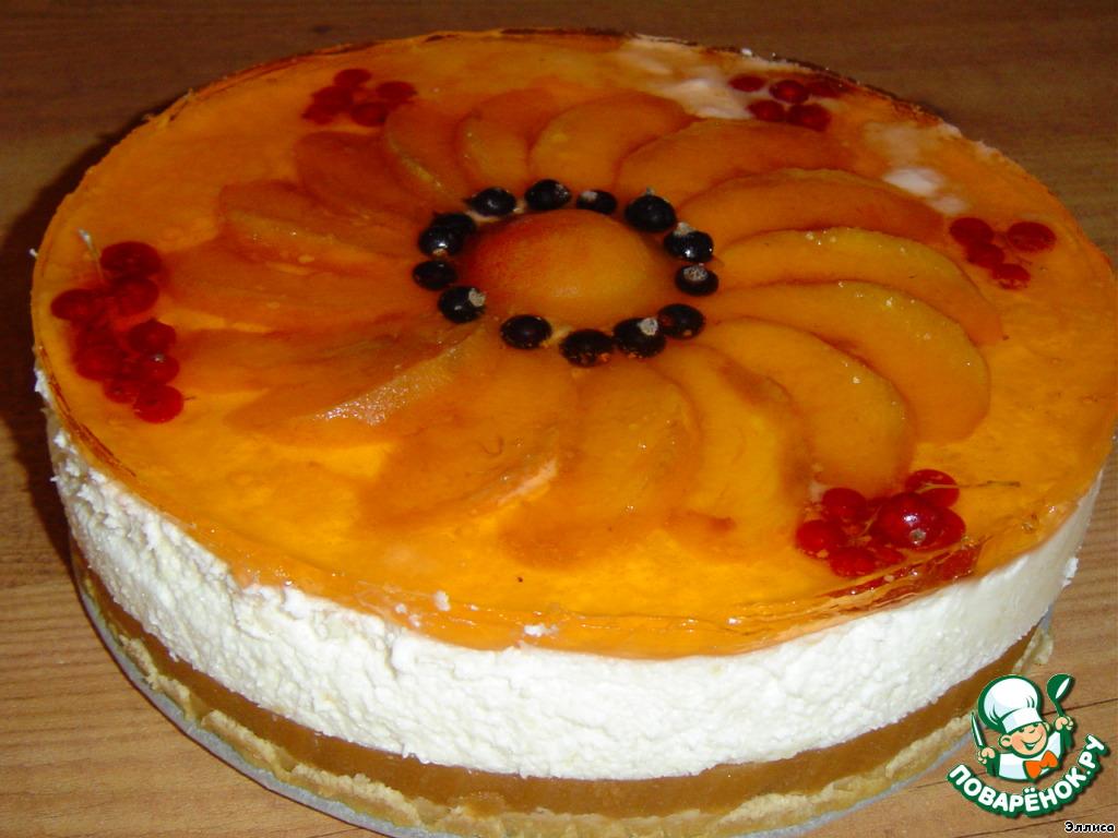 Как залить торт желе пошагово с