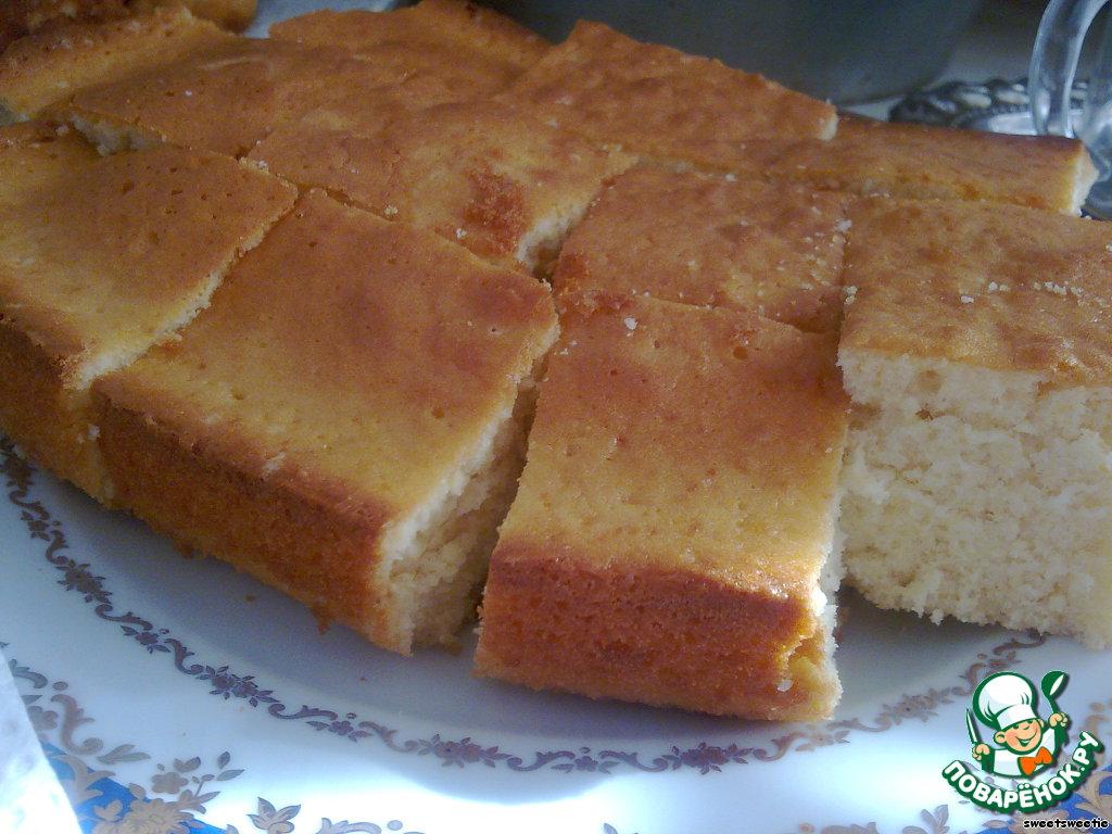 Бисквит из маргарина рецепт с пошагово