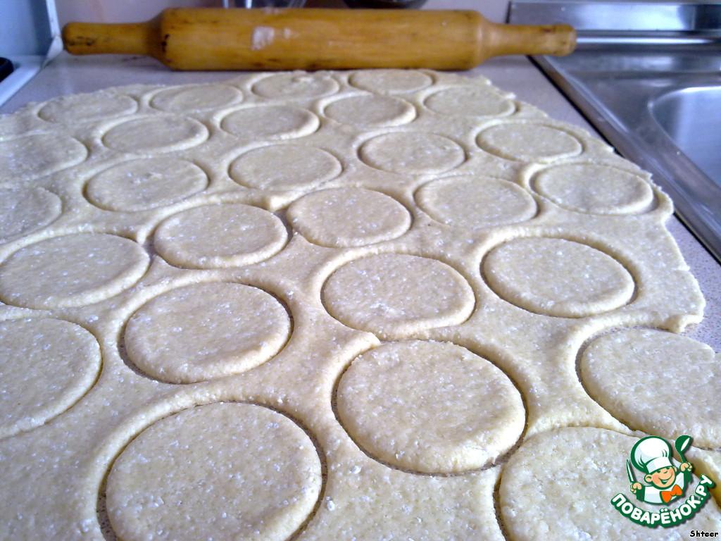 творожное песочное печенье рецепт с фото