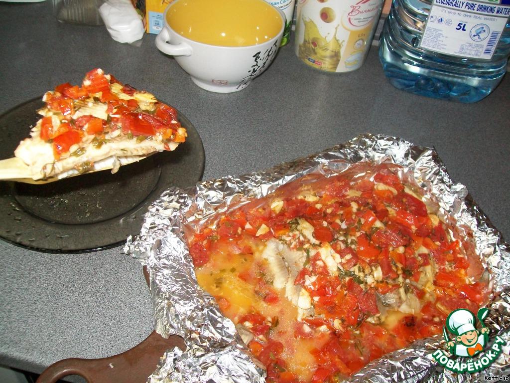приготовление рыбы в духовке рецепты с фото кета