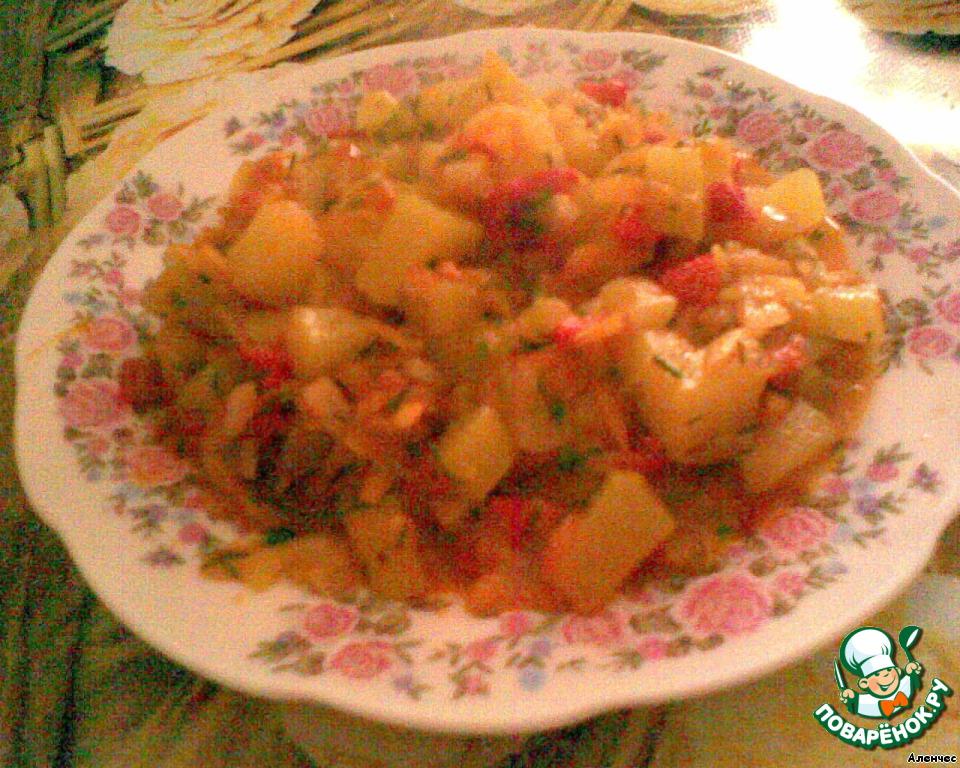 Рагу овощей пошаговый рецепт фото