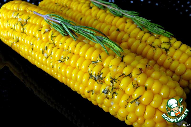 Рецепт кукуруза в початке