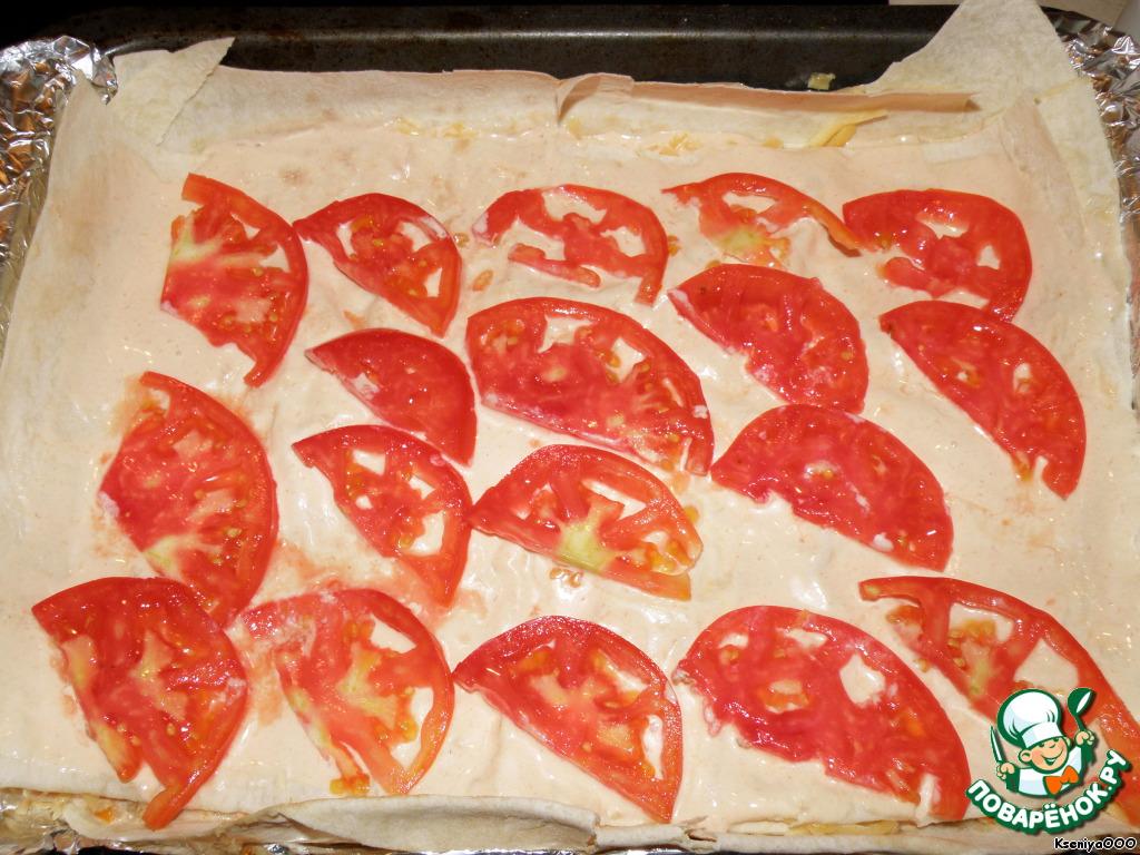мясо с картошкой помидорами и сыром в духовке рецепт