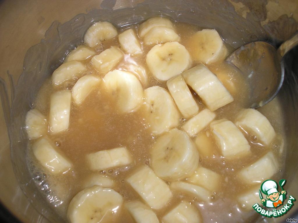 Как приготовить банан с сахаром