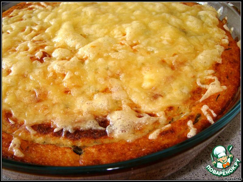 рецепт в духовке картошка рыбный фарш
