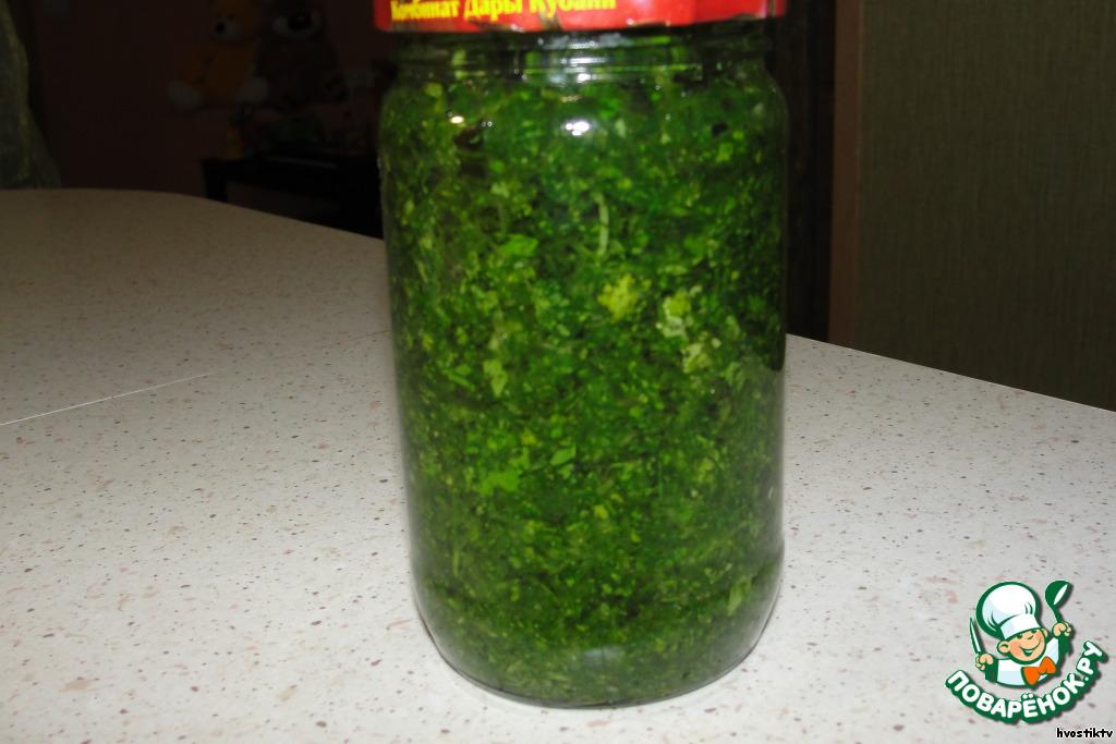 Заморозка зелени: 20 рецептов заготовок 51