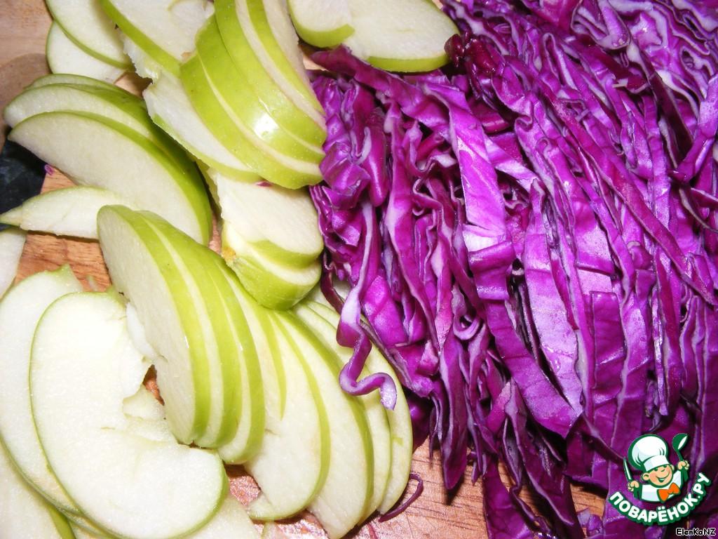 Заготовки из краснокочанной капусты рецепты с фото