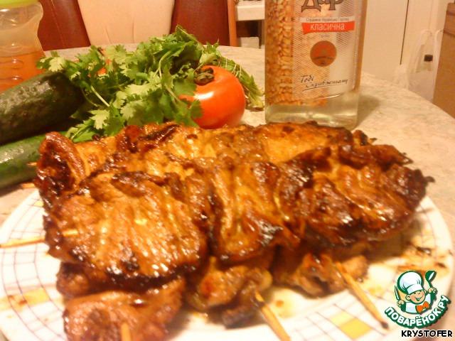 Рецепт холодного шашлыка из свинины рецепт