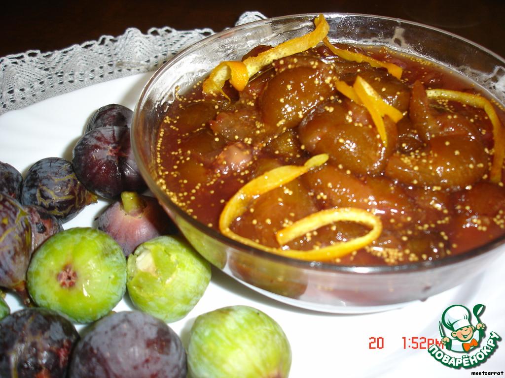 Блюда из инжира рецепты