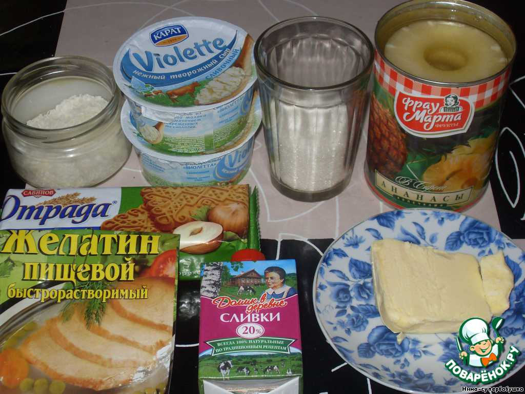 Сливочный творожный сыр для чизкейка