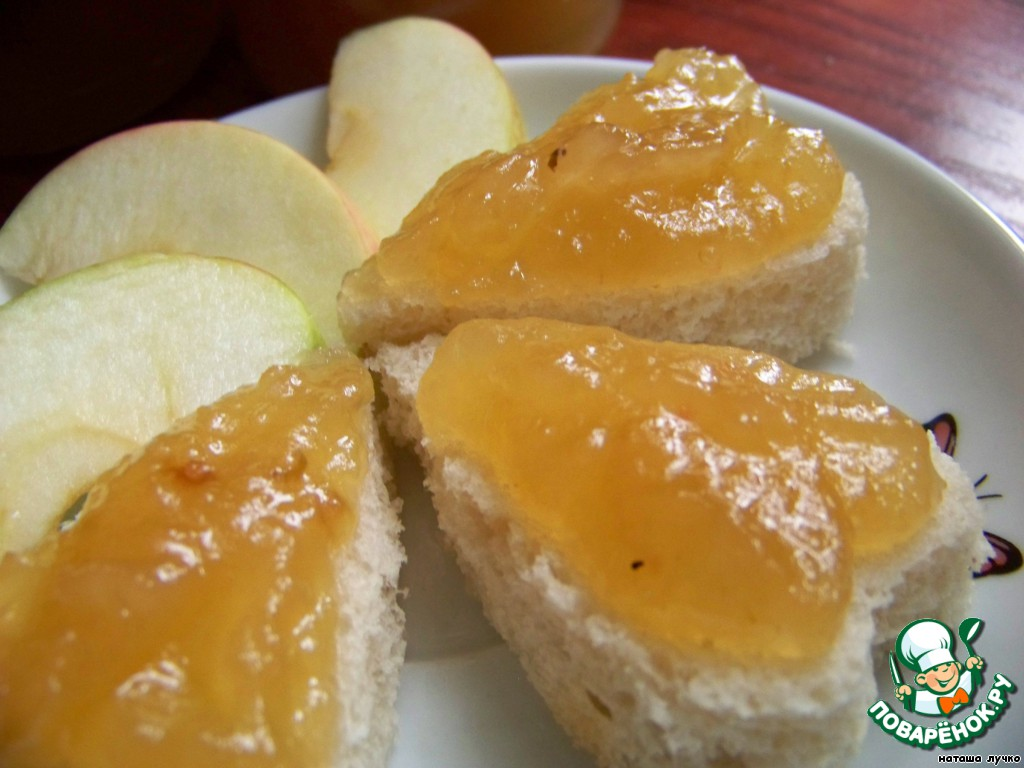 джем из яблок рецепт с фото