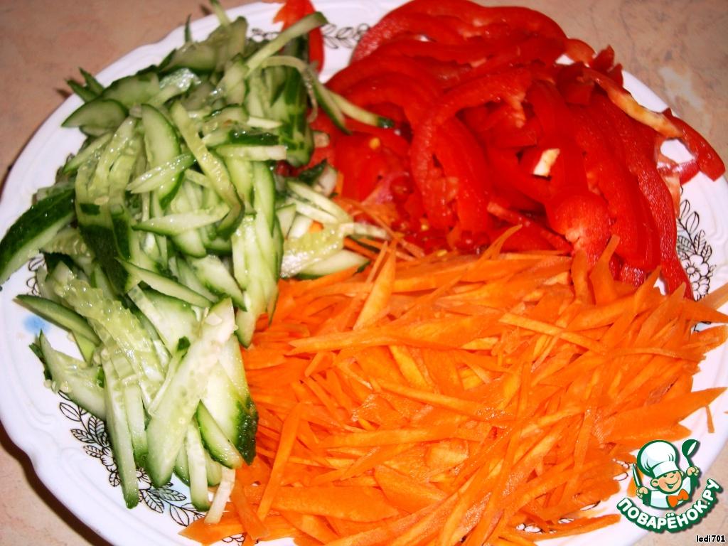 Морковка по корейски болгарский перец