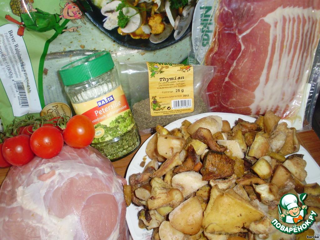 рецепт салатов с лесными грибами