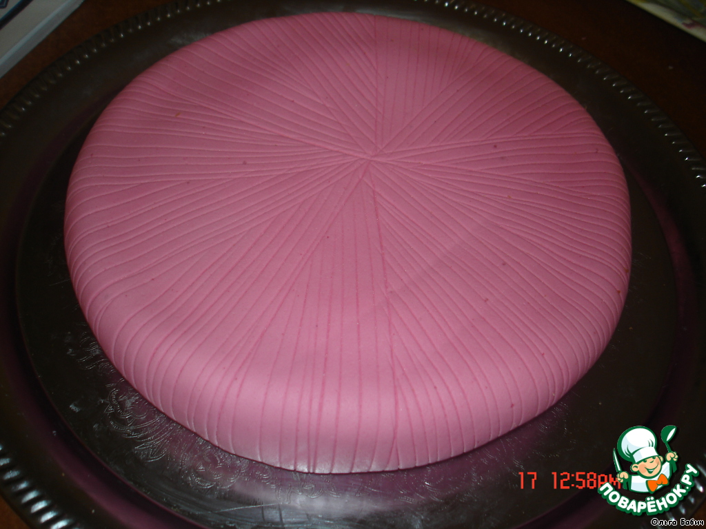 Торт рецепт с фото пошагово под мастику