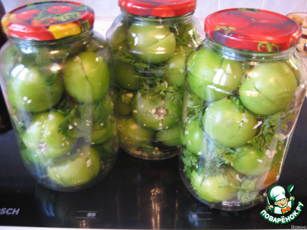 консервирования зеленых помидоров Рецепты