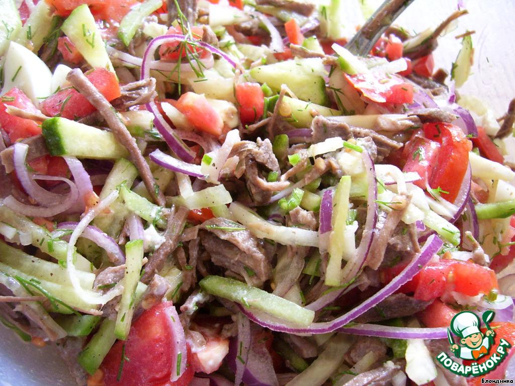 Бахор салат рецепт