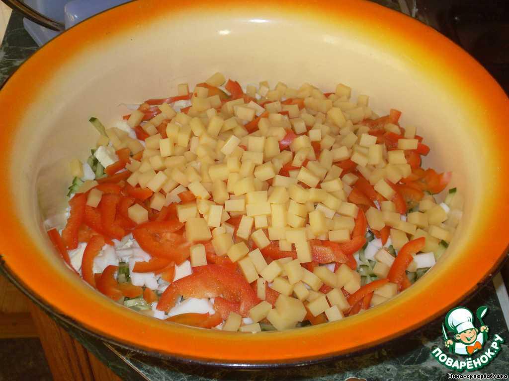 Салат полесский рецепт с