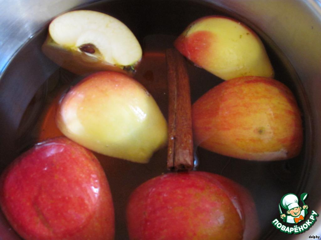 яблочный пунш безалкогольный рецепт приготовления