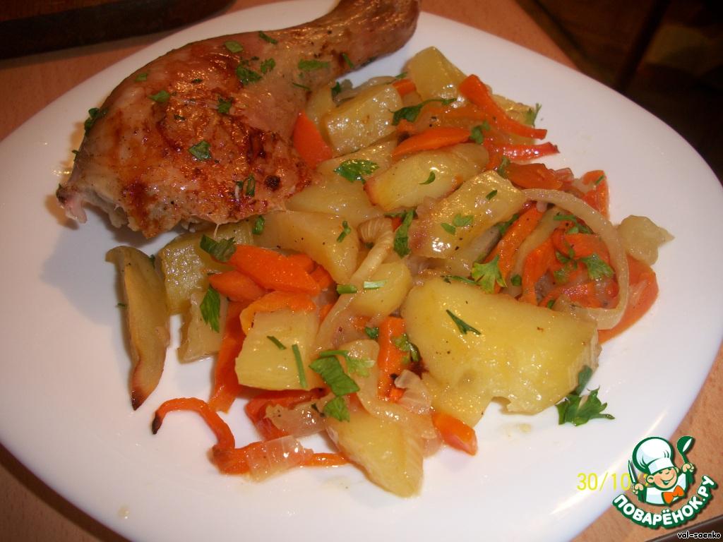 Вторые блюда с гарниром рецепты простые и вкусные
