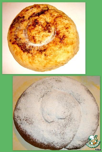 Готовим вкусный рецепт приготовления с фото Булка с корицей  и маком #3